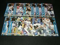 1990 ACTION PACKED THE  ALL MADDEN TEAM LOT OF (11) CARDS / AIKMAN, MOON