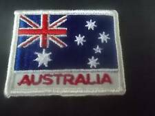 Vintage AUSTRALIA FLAG Sew on Embroidered Patch Badge National Country MINT