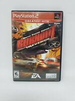 Burnout: Revenge (Sony PlayStation 2, 2005) Greatest Hits No Manual Tested Works