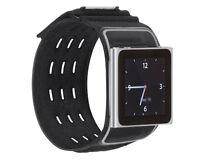 Belkin iPod Nano 6th Generation 6G WristFit Sport Black Armband Case F8Z684cwBKB