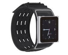 Belkin iPod Nano 6a Generazione 6G WristFit Sport Nero Bracciale caso f8z684cwbkb