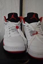 Air Jordan Retro 5 Black Fire Red Size 4.5Y