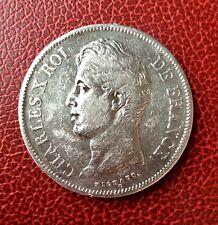 France - Charles X - Très Jolie monnaie de 5 Francs 1830 A