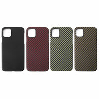 Magnetic Real Carbon Fiber Matte Slim Phone Case Cover For iPhone 11 Pro Max