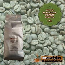 Caffè Verde in Grani El Salvador Primium 1 Kg - Caffè Arabica 100%