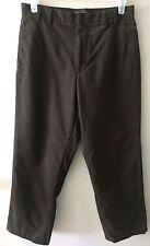 Men's DOCKERS Premium Flat Front Classic Fit Dress Pants - Size W33 L 30 - Brown