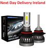 8000LM H11 H8 H4 H1 H7 LED Headlight Kits Hi/Lo Power 6000K White Bulb Bulbs