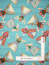 Christmas Fabric Angel Religious Heaven Angels Holiday Jim Shore CP61506 - YARD