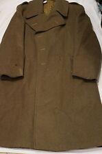 Canadian Army Korean War Wool Great Coat 1952 Size 7 Rubenstein