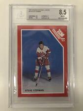 1983 Canadian National Juniors Steve Yzerman #19! BGS 8.5!