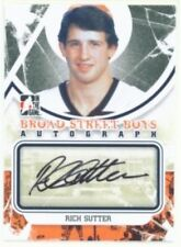 "RICH SUTTER ""AUTOGRAPH CARD"" ITG BROAD STREET BOYS FLYERS"
