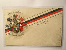 Berlin - Charlottenburg - Burschenschaft Cimbria - 1914 - Wappen / Studentika