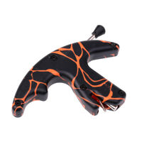 Archery Release Aid Thumb Trigger for Compound Recurve Bow String - Orange