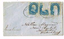 Scott #63 January 15 1863 Jamesville Cancel Cover