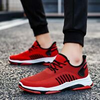 Summer Red Sports Shoes Trainers Men Running Shoes Sport Sneakers for Men Joggin