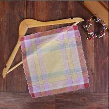 Womens Ladies Cotton Soft Printed Handkerchief Mixed Color Hankerchiefs 12Pcs