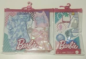 """Barbie """"Make A Splash"""" 2 Outfit Fashion Pack & Accessory Pack BRAND NEW!"""
