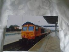 6x4 Photo of GB Railfrieght Class 66-66782 at Derby Railway Station
