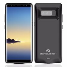 zerolemon Galaxy Note 8 5500mAh zerolemon extended Battery Case Black