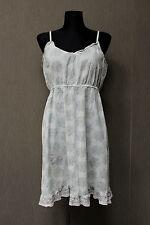 Cream Sommer Kleid 40 hellblau L19
