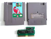 RARE! Color A Dinosaur ORIGINAL NINTENDO NES GAME Tested WORKING AUTHENTIC!