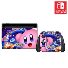 Kirby Star Allies Vinyl Skin Sticker Set for Nintendo Switch