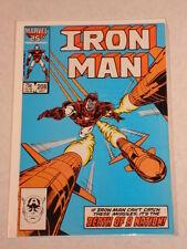 IRONMAN #208 VOL1 MARVEL COMICS JULY 1986