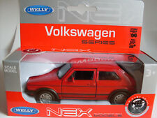 VW Golf 1 GTI rot, Welly Auto Modell 1:36