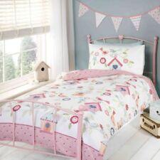 Linge de lit et ensembles blanc coton mélangé à motif Floral