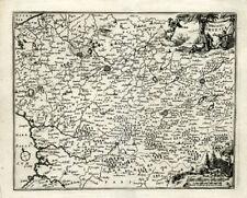 ANTIQUE MAP-ARTESIA-FRANCE-BACHIENE-1758