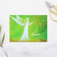 "Dankeskarte ""Danke!"" Grusskarte, Postkarte Dankeschön Danksagung Karte Engel"