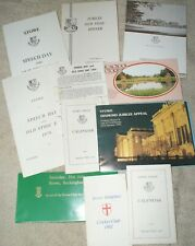 Stowe School Collection Of Ephemera, Letters, Invitations, Pamphlets