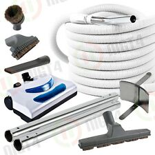 Allegro Electric Central Vacuum Powerhead 30'  Pigtail Hose & Attachment Vac Kit