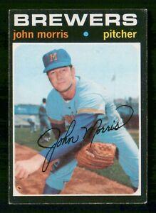 JOHN MORRIS 1971 TOPPS NO 721 VGEX  30467