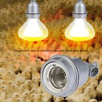 E27 Lamp Socket Adapter Light Bulb Base Stand Holder  Reptile Brooder Emitter IW
