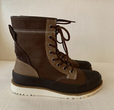 Converse All Star Brown Storm Boots Long Size UK 7 EUR 41 Gently Worn