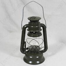 Olive Green Camping Lamp - Lantern Kerosene Paraffin Oil Military US Army Style