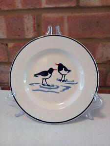 "Emma Bridgewater Oyster Catchers 6.5"" 6 1/2"" Plate - New 1st quality"