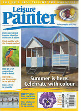LEISURE PAINTER MAGAZINE,   AUGUST, 2016  SUMMER IS HERE ! CELEBRATE WITH COLOR