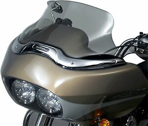 "1998-2013 Harley Davidson Road Glide WINDSHIELD 8.25"" Smoke Tint WindScreen NEW"