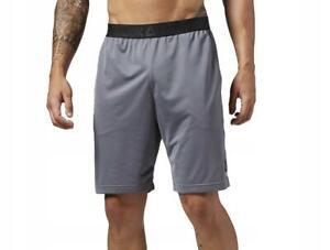 New Licensed Reebok Lightweight Workout Training Shorts Size Medium MMA B36