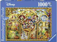 Ravensburger Puzzle 1000 Piece - The Best Disney Themes, Brand New