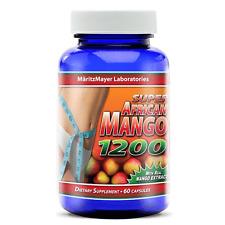 Super African Mango 1200 Extract Burn Fat Weight Diet Loss Irvingia Gabonensis