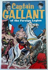CAPTAIN GALLANT OF THE FOREIGN LEGION #1 1955 PRE-CODE GOLDEN AGE. DON HECK FN.