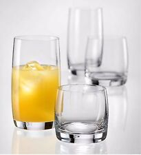 12x Bohemia Crystal drinking glasses whisky cocktail + HIGHBALL IDEAL