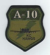 """303rd  FIGHTER SQUADRON A-10 """"KC HAWGS"""" (OCP) patch"""