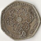 GREAT BRITAIN, 50 Pence 2010, 100 Years of Girl Guiding UK, Copper-nickel