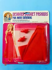 1976 BIONIC WOMAN RED DAZZLE FASHION Jaime Sommers fits Barbie size Dolls MIP