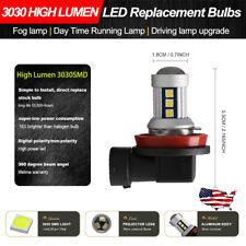 White Canbus Bulbs H11 H8 LED Fog Lamp DRL Lighting For 2013-2016 Honda Civic Si