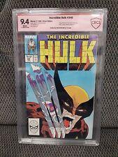 Incredible Hulk #340, CBCS Signature Series, 9.4/NM